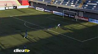 Patrick Palacios falla acción clara de gol ante el Curazao en el Premundial Sub-17