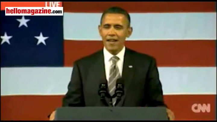 Barack Obama charms the crowds as he sings Al Green\'s hit \'Let\'s Stay Together\'