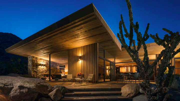 Edris House in Palm Springs Maintains Its Sinatra-Era Cool