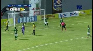 ¡OSO! Ángel Tejeda falla clara oportinidad de gol