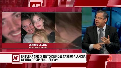 ¿Quién es Sandro Castro el nieto de Fidel Castro que se pasea por La Habana en carros de lujo?