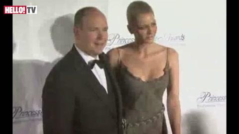 Stylish Charlene joins Prince Albert at Princess Grace Awards