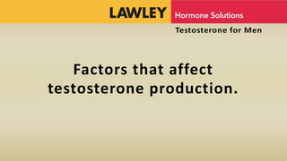 Factors that affect testosterone production