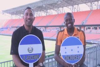 El mano a mano de Boniek García y Arturo Álvarez previo al amistoso entre Honduras y El Salvador