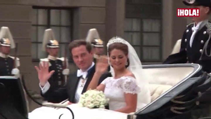 Así fueron las bodas de las hermanas de Carlos Felipe de Suecia, las princesas Victoria y Magdalena