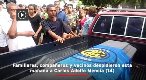 Entre cánticos sepultan al segundo niño ahogado, que soñaba ser futbolista