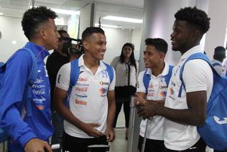 La Sub-21 de Honduras viajó a Colombia para disputar los Juegos Centroamericanos y del Caribe