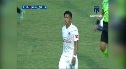 El momento en el que ingresa Wilson Palacios a la cancha (Liga Nacional 2018)
