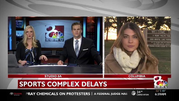 Philips Lake Park sports complex delays