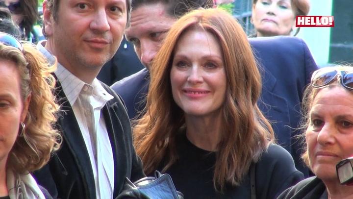 Julianne Moore praises her husband Bart Freundlich\'s new film Wolves