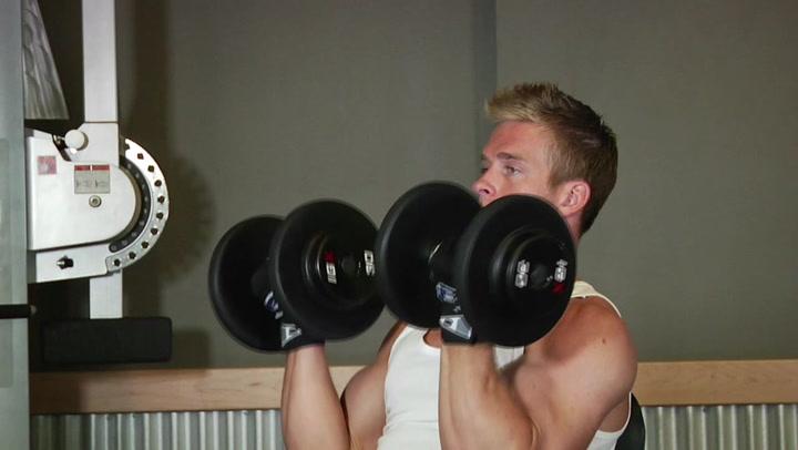 Arnold Dumbbell Press - Shoulder Exercise - Bodybuilding.com