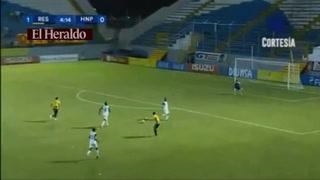 Ángel Tejeda abre el marcador ante el Honduras Progreso 1-0