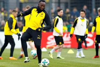 Dos goles y un caño: Los lujitos de Usain Bolt en el entreno del Dortmund