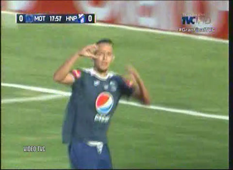 Motagua 2 - 0 Honduras Progreso  (Liga Nacional de Honduras)