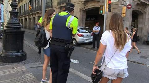 Barcelona en shock el día después de los atentados