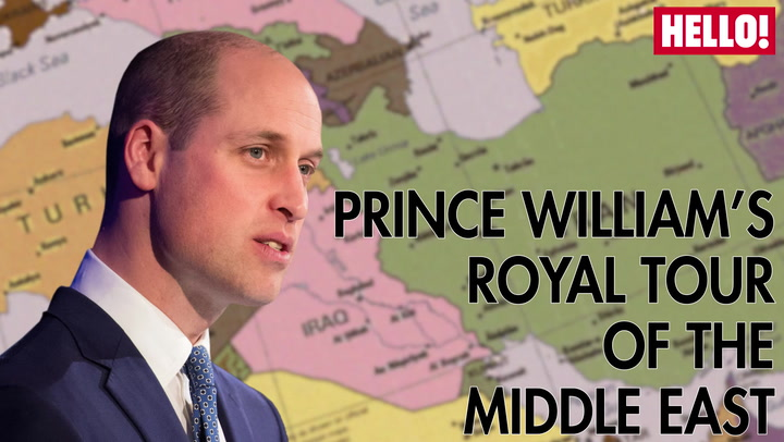Prince William\'s Tour of the Middle East