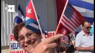 Celebran con mariachis celebran en Miami la llegada de Trump