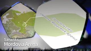 Características del Estadio de Saransk, para el Mundial Rusia 2018