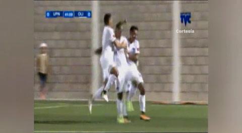Gol del Olimpia al UPN (Liga Nacional 2018)