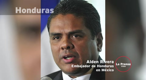 Alden Rivera: Embajador de Honduras en México