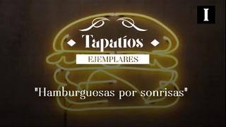 Tapatíos ejemplares: Hamburguesas por sonrisas