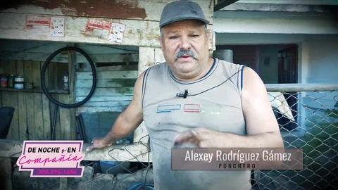 La historia de un cubano que quedó desempleado como mecánico de locomotoras y ahora es ponchero