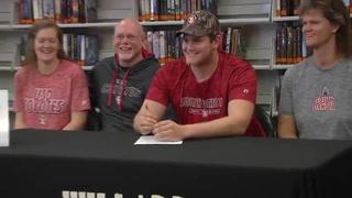 Willard's Ethan Burson signs with South Dakota