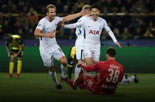 Tottenham derrota a domicilio al Dortmund y asegura el liderato de su grupo