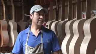 Paracho, la capital mundial de la guitarra artesanal