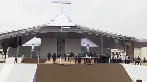 Todo listo en Perú para recibir al papa Francisco