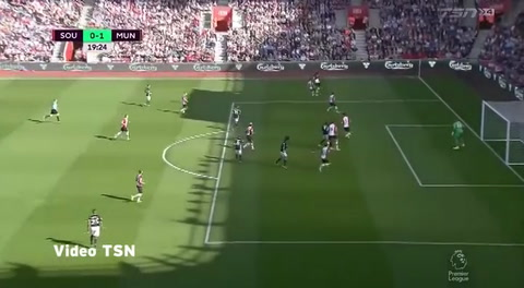 Southampton 0-1 Manchester United (Premier League 2017)