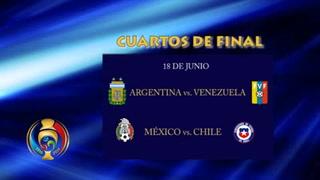 Definen cuartos de final de la Copa América