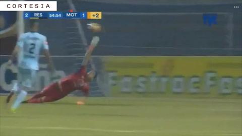 Real España anota el segundo gol y ya vence al Motagua
