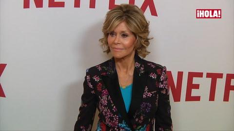 Jane Fonda nos cuenta cuál es su papel más desconocido, el de abuela