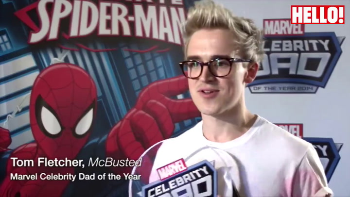Tom Fletcher: It feels amazing to be crowned best dad