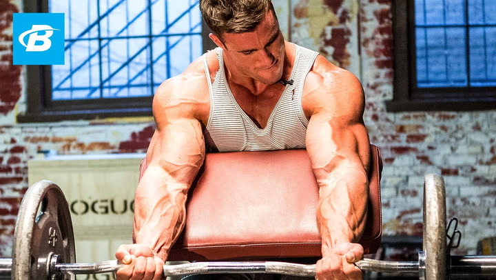 Calum Von Moger's Old School Bodybuilding Arms Workout