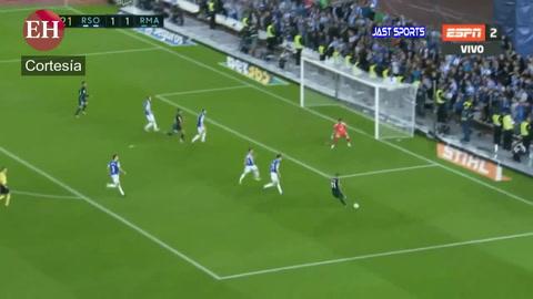 Real Madrid vence 3-1 a la Real Sociedad en la Liga de España