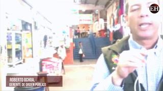 Roberto Ochoa, gerente de Orden Público invita a los capitalinos a visitar mercado San Pablo y otros mercados de la capital