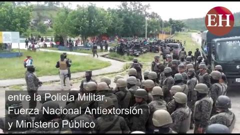 Fuertes operativos en Ciudad España deja varios detenidos