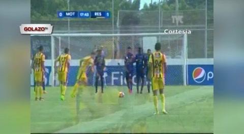 Motagua 2 - 1 Real España (Liga nacional de Honduras)