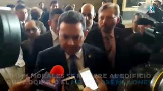 Así evade el presidente de Guatemala responder por sus lujosos gustos