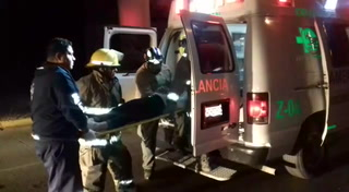 Rescatan a dos mujeres tras choque en Circuito JVC