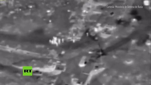 Así aniquila la aviación rusa las instalaciones del Estado Islámico en Siria