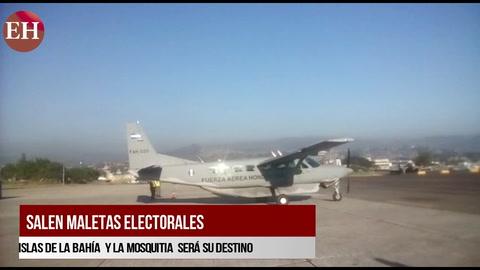 Salen maletas electorales hacia Islas de la Bahía y la Mosquitia