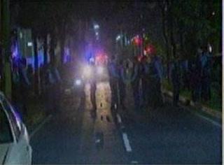 Calles de San Pedro Sula con las secuelas del caos en el estadio Morazán