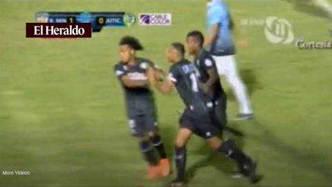Juticalpa empata el marcador ante Real de Minas 1-1