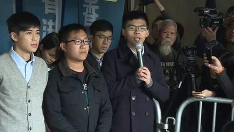 Activista hongkonés Joshua Wong condenado de nuevo a prisión