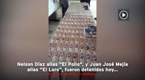 Capturan a dos supuestos extorsionadores en San Pedro Sula