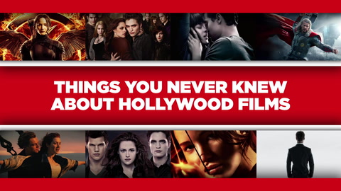Things you never knew about Hollywood films