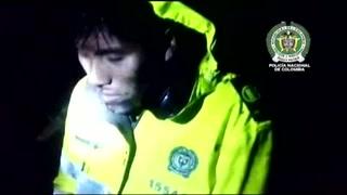 Divulgan video de boliviano rescatado tras caída de avión